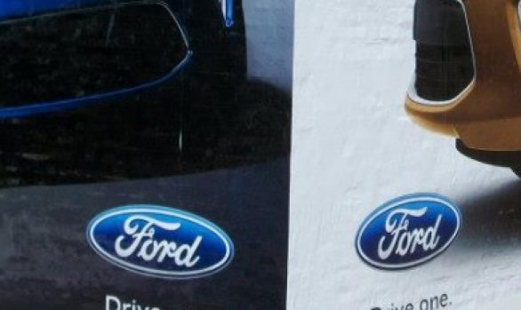 Ford Wall Wrap