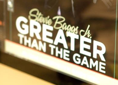 Greater Than The Game - Stevie Baggs